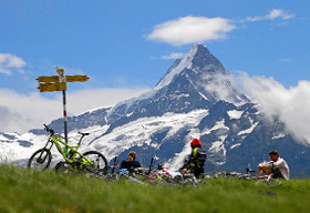 Chamonix to Grindelwald in mountainbiking