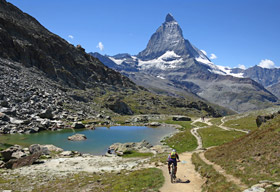 Chamonix to Zermatt Trip in mountainbiking