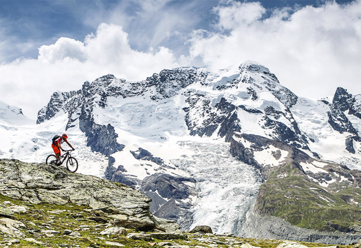 Mountain Biking Holidays to the Alps with Alpine Elements