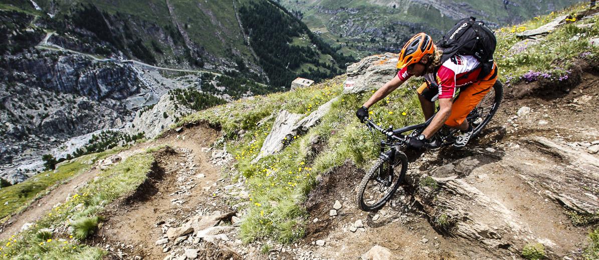 Mountain Bike Chamonix Zermatt Switzerland Alps Specialist Mtb ...