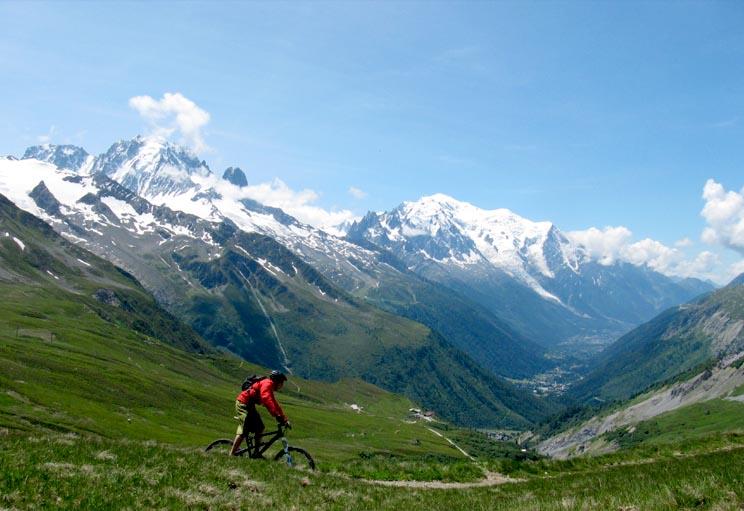 Le Tour Chamonix Mountain Biking